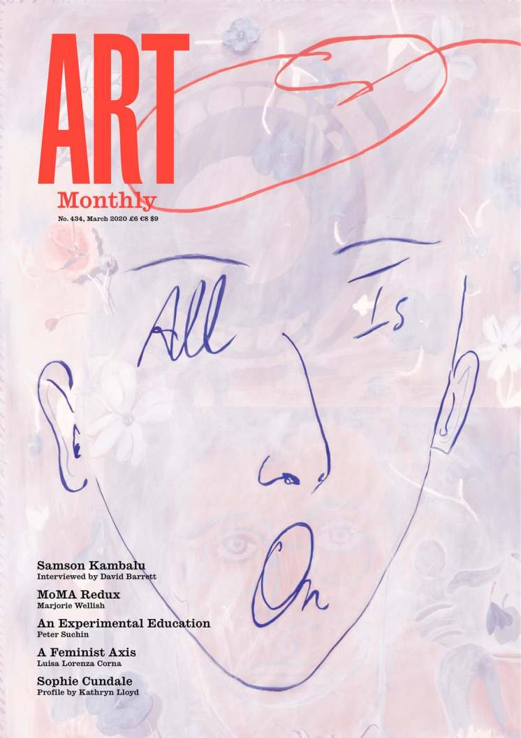 art monthly cover samson kambalu